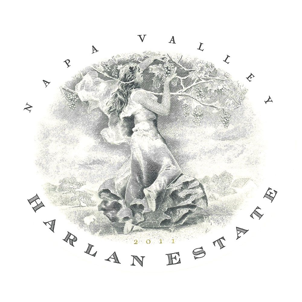 Harlan Estate (1.5 Liter Magnum) 2009 Front Label