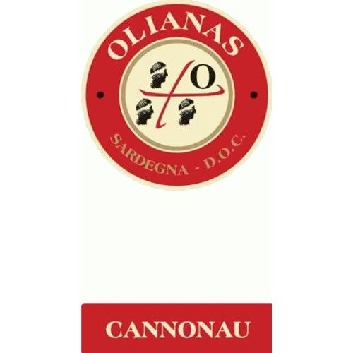 Olianas Cannonau 2013 Front Label