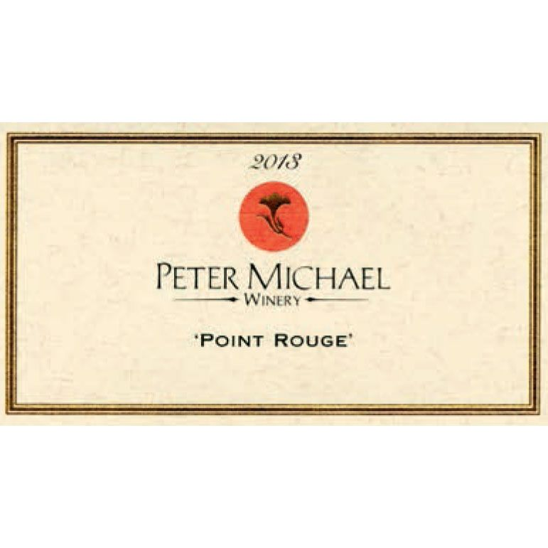 Peter Michael Point Rouge Chardonnay 2013 Front Label