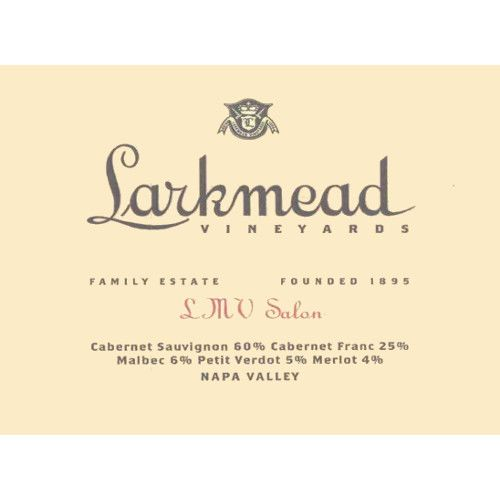 Larkmead LMV Salon 2006 Front Label