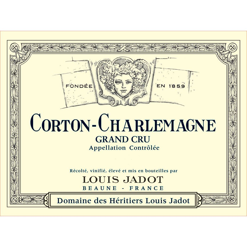 Louis Jadot Corton-Charlemagne 2013 Front Label