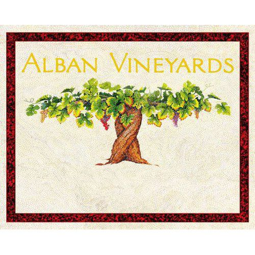 Alban Reva Estate Syrah 2011 Front Label
