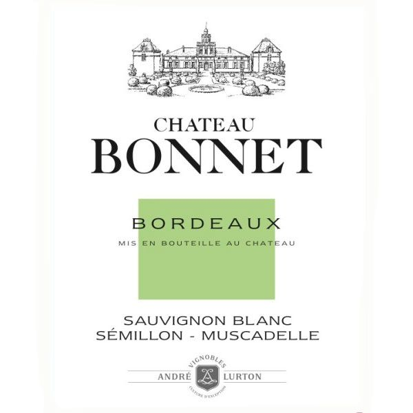 Chateau Bonnet Blanc 2014 Front Label