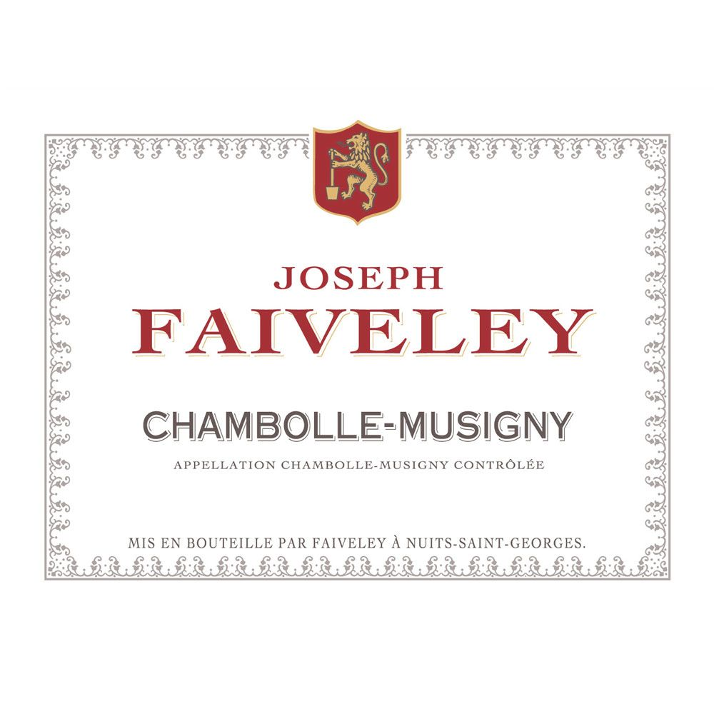 Domaine Faiveley Chambolle-Musigny 2011 Front Label