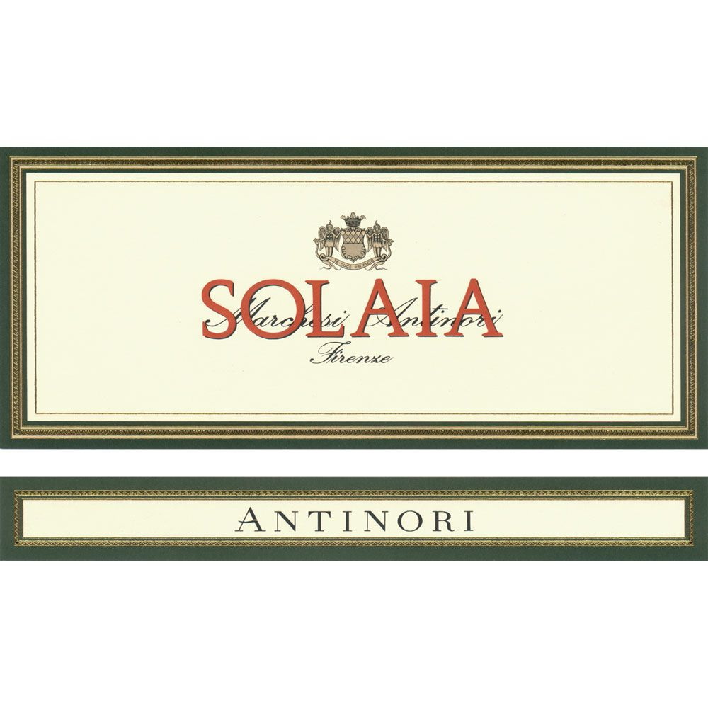 Antinori Solaia (3 Liter Bottle) 2011 Front Label