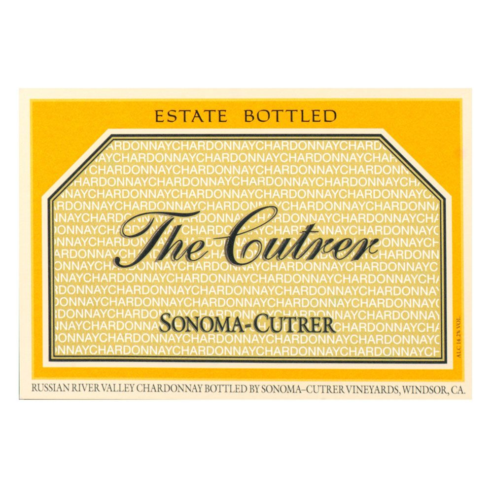 Sonoma-Cutrer The Cutrer Chardonnay 2013 Front Label