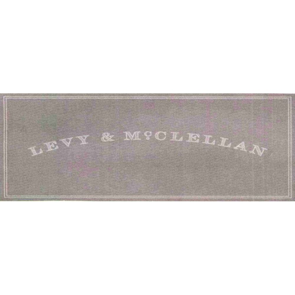 Levy & McClellan Proprietary Red 2007 Front Label