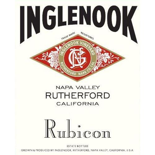 Inglenook Rubicon (375ML half-bottle) 2012 Front Label