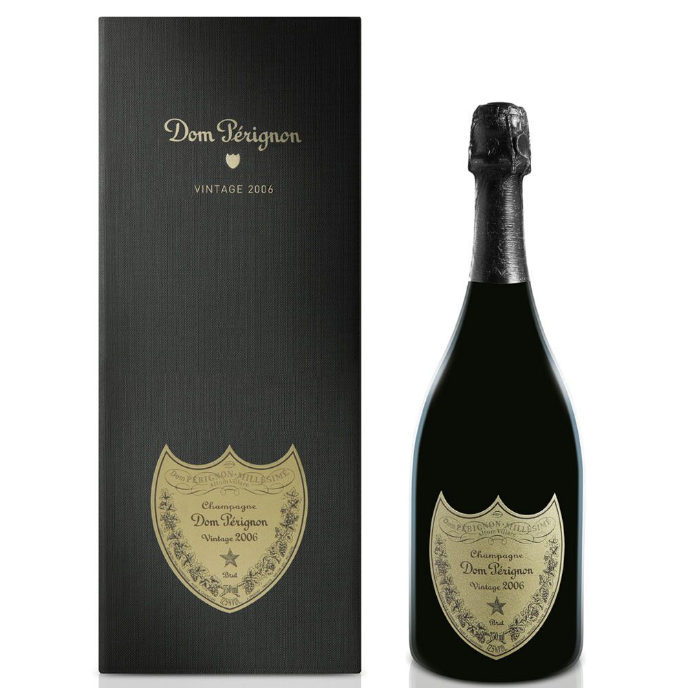 Dom Perignon with Gift Box 2006 Front Label