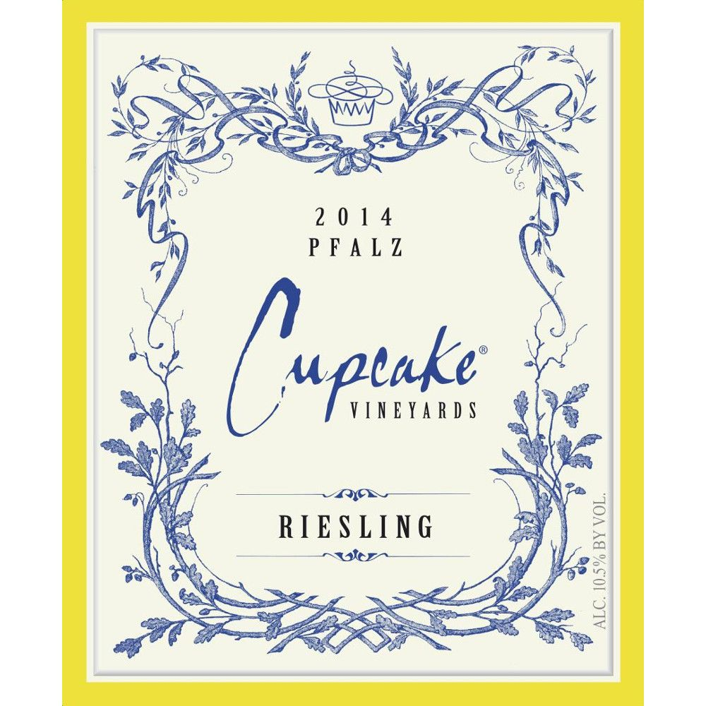 Cupcake Vineyards Riesling 2014 Front Label