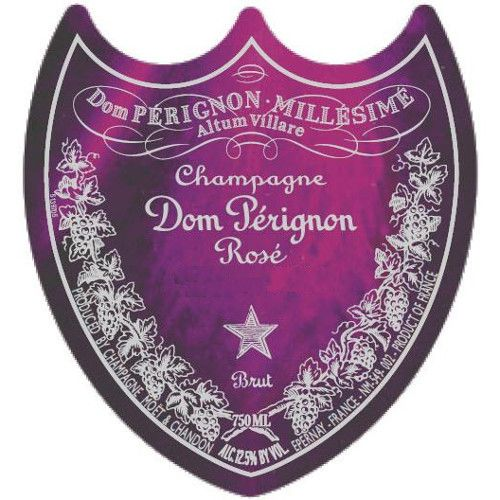 Dom Perignon Rose 2004 Front Label