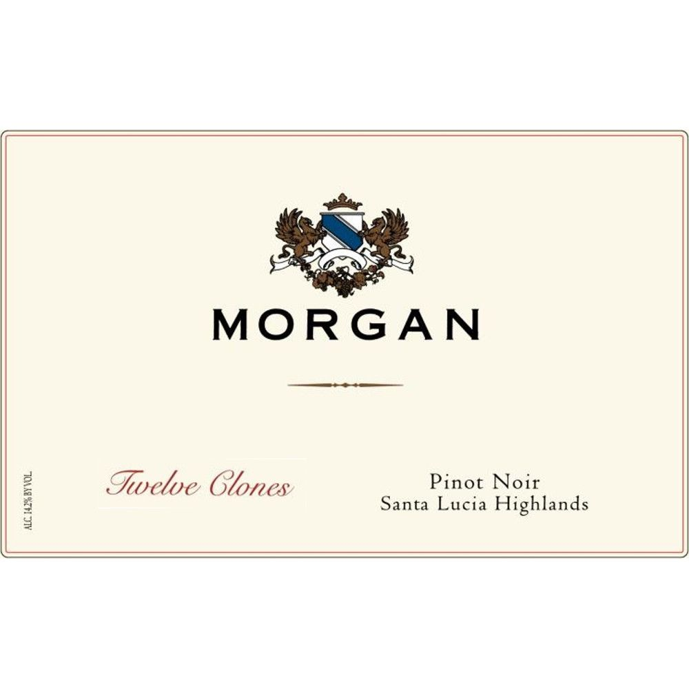 Morgan Twelve Clones Pinot Noir 2014 Front Label