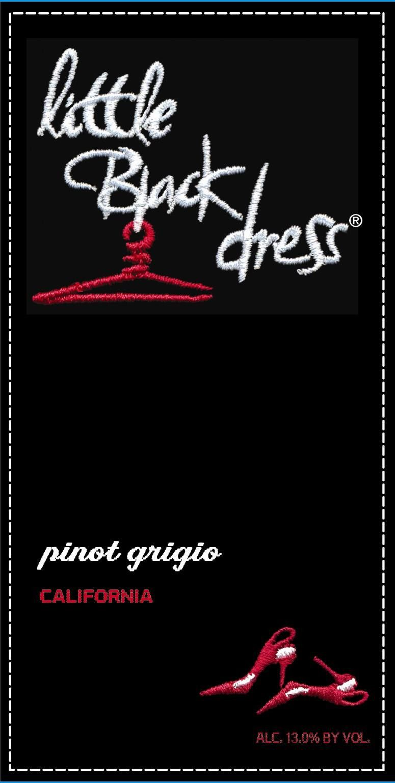 Little Black Dress Pinot Grigio 2010 Front Label