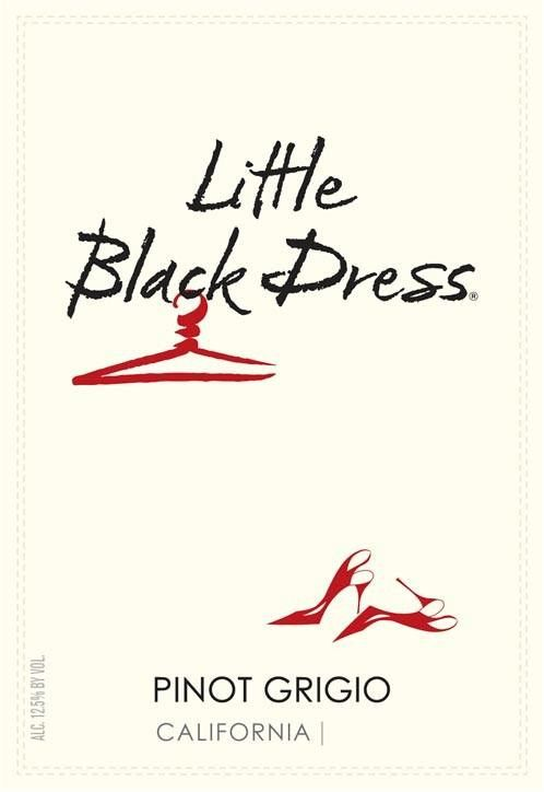 Little Black Dress Pinot Grigio 2013 Front Label