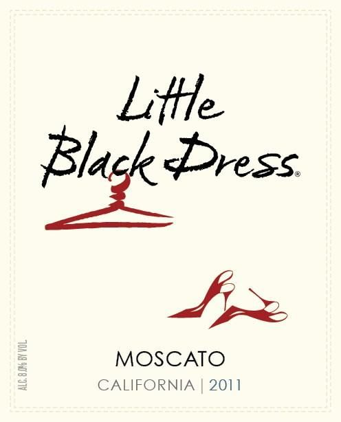 Little Black Dress Moscato 2011 Front Label