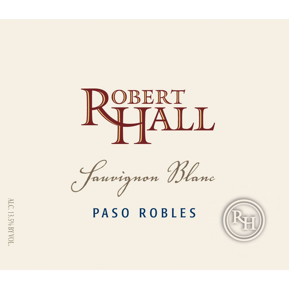 Robert Hall Sauvignon Blanc 2015 Front Label