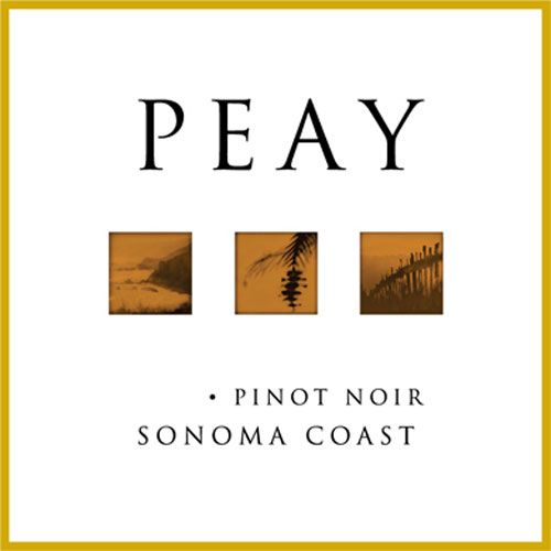 Peay Vineyards Sonoma Coast Pinot Noir 2014 Front Label