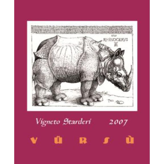 La Spinetta Barbaresco Starderi 2007 Front Label