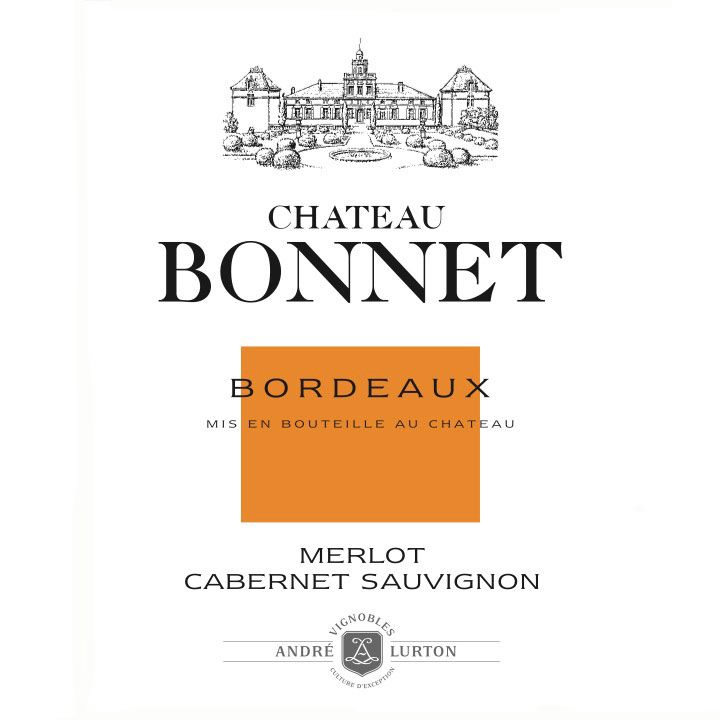 Chateau Bonnet Rouge 2012 Front Label