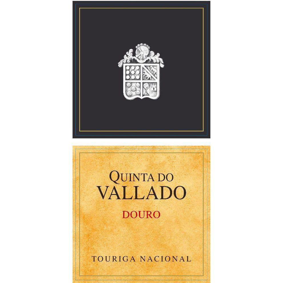 Quinta do Vallado Touriga Nacional Douro 2012 Front Label