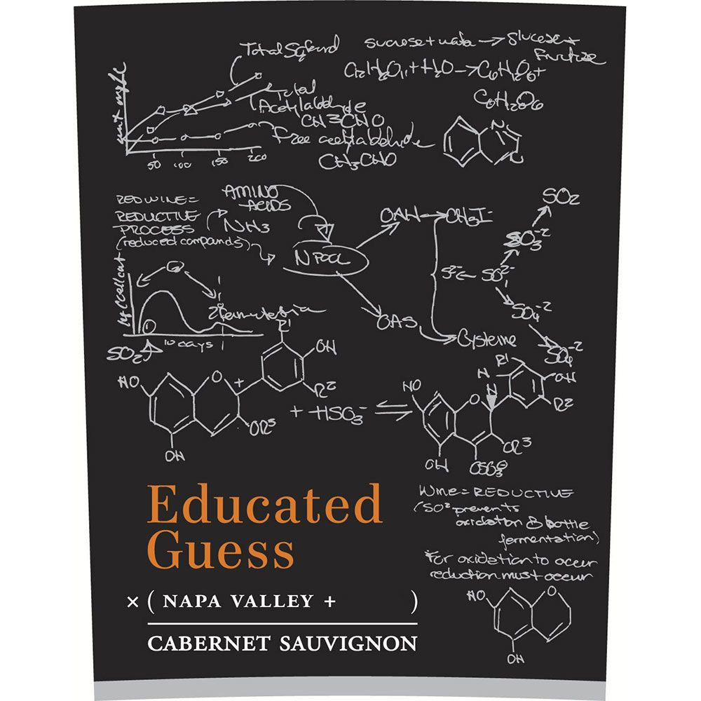 Roots Run Deep Educated Guess Napa Cabernet Sauvignon 2014 Front Label