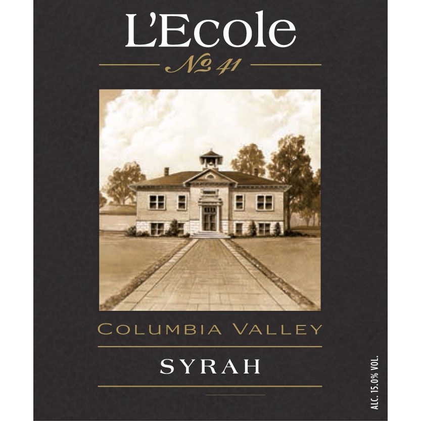 L'Ecole 41 Columbia Valley Syrah 2013 Front Label