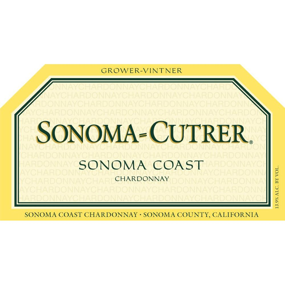 Sonoma-Cutrer Sonoma Coast Chardonnay (375ML half-bottle) 2014 Front Label