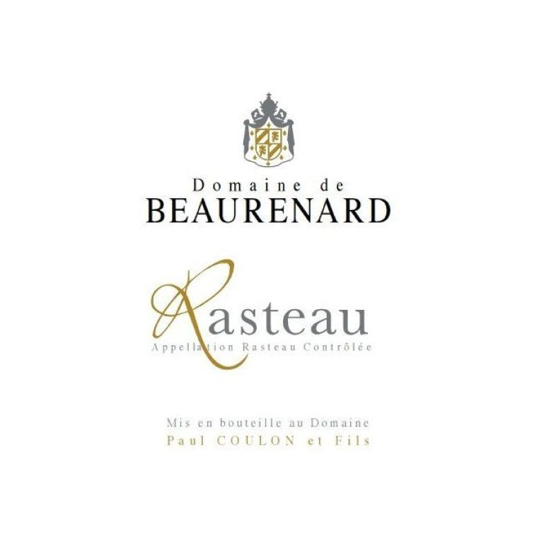 Domaine de Beaurenard Rasteau Cotes du Rhone Villages 2013 Front Label