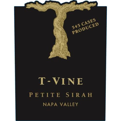T-Vine Cellars Napa Valley Petite Sirah 2013 Front Label