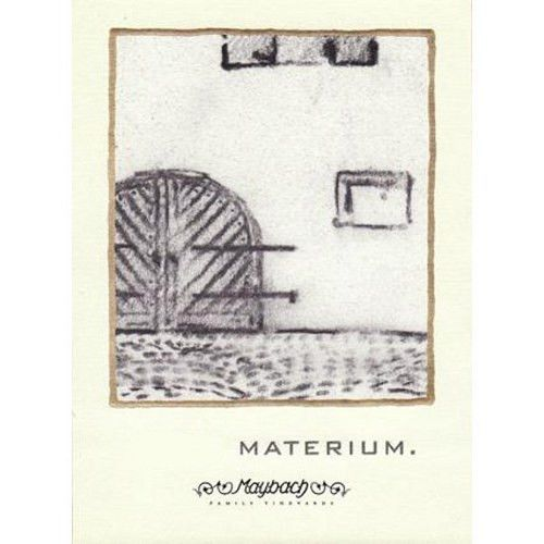Maybach Family Vineyards Materium 2012 Front Label
