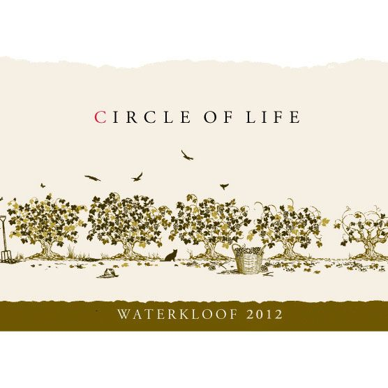 Waterkloof Circle of Life White Blend 2012 Front Label