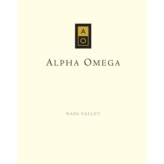 Alpha Omega Krupp Brothers Vineyard Petite Sirah 2010 Front Label