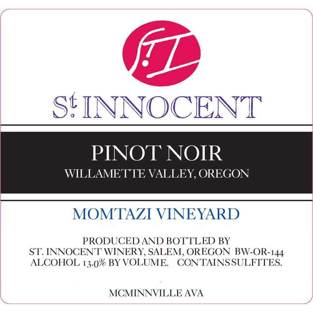 St. Innocent Momtazi Hill Pinot Noir 2013 Front Label