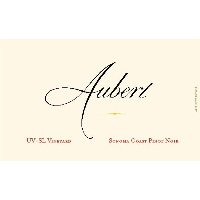 Aubert UV-SL Vineyard Pinot Noir 2013 Front Label