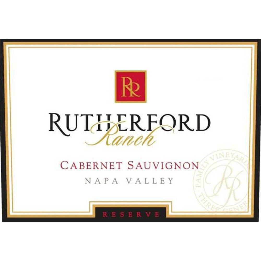 Rutherford Ranch Estate Reserve Cabernet Sauvignon 2009 Front Label