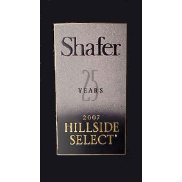 Shafer Hillside Select Cabernet Sauvignon (1.5 Liter Magnum) 2007 Front Label