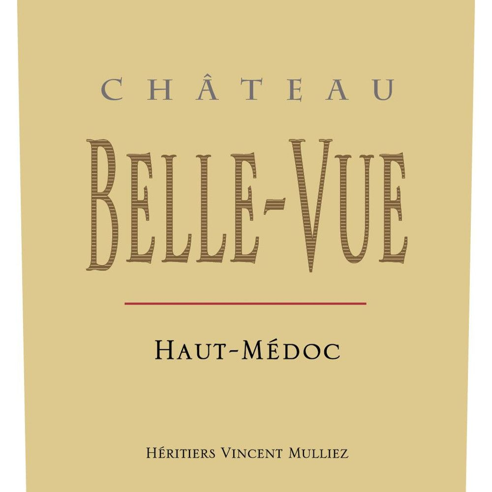 Chateau Belle-Vue  2015 Front Label