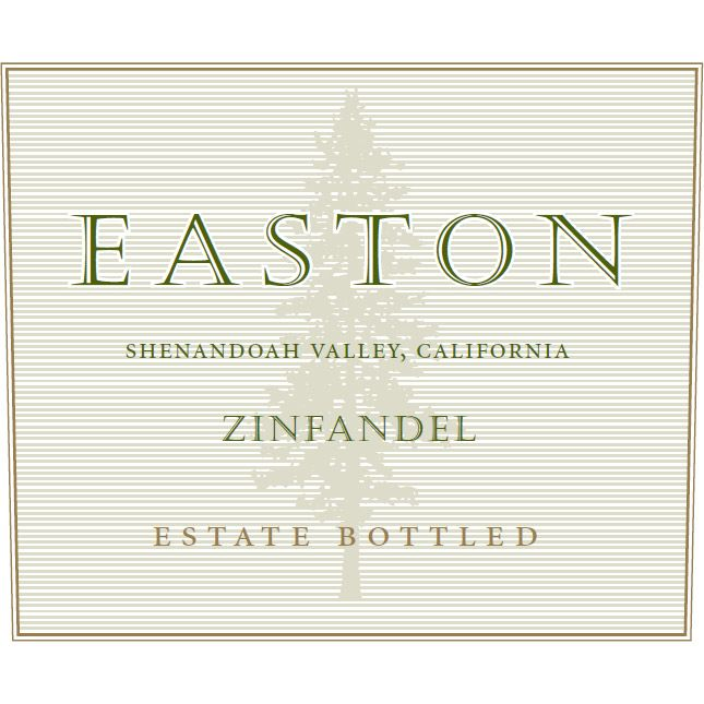 Easton Shenandoah Valley Zinfandel 2010 Front Label