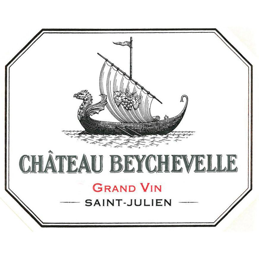 Chateau Beychevelle  2016 Front Label