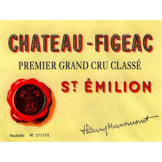 Chateau Figeac  2015 Front Label