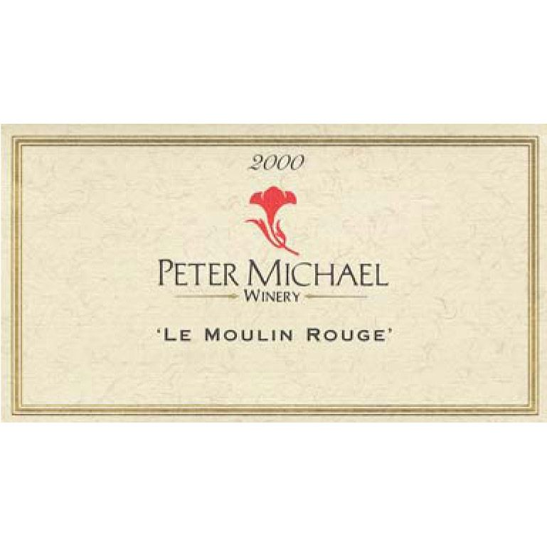 Peter Michael Le Moulin Rouge Pinot Noir (1.5 Liter Magnum) 2000 Front Label