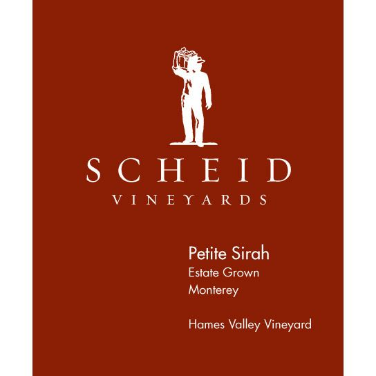 Scheid Vineyards Petite Sirah 2011 Front Label