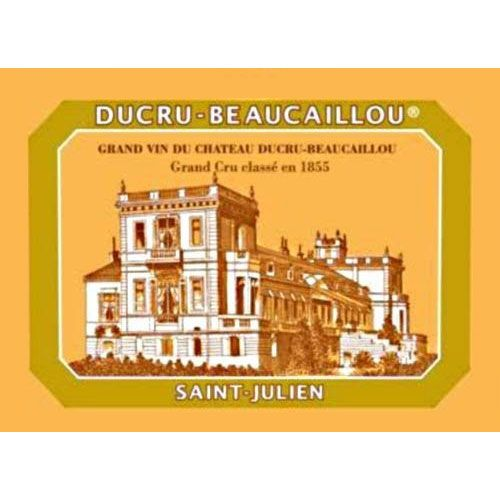 Chateau Ducru-Beaucaillou  2015 Front Label