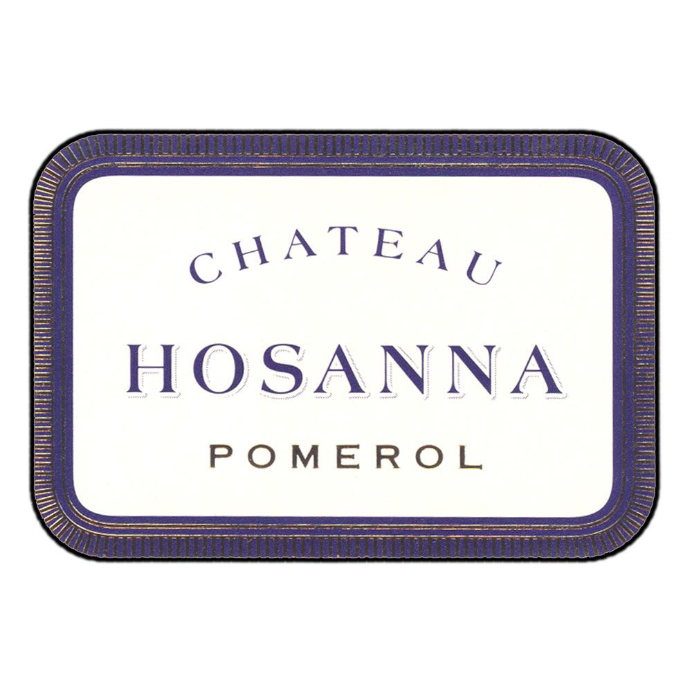 Chateau Hosanna  2015 Front Label