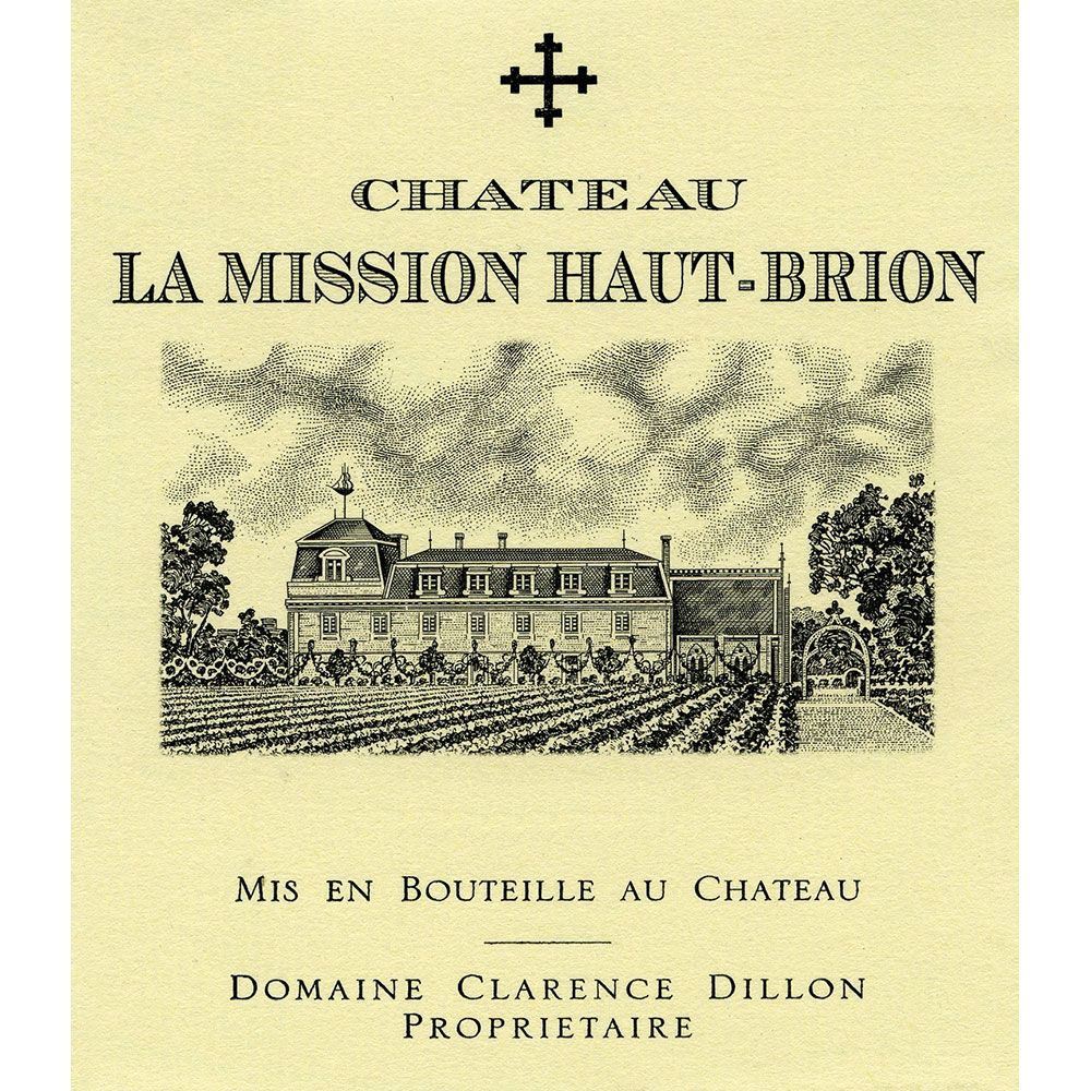 Chateau La Mission Haut-Brion  2015 Front Label