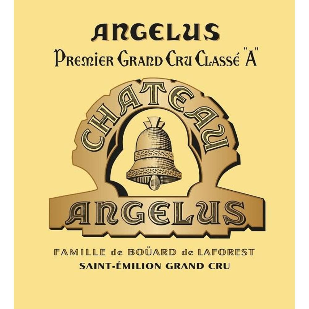 Chateau Angelus  2015 Front Label
