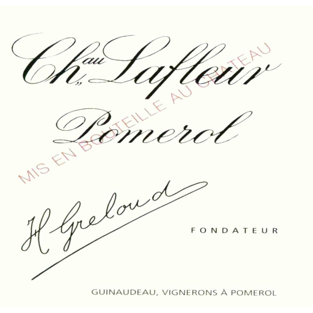 Chateau Lafleur  2015 Front Label