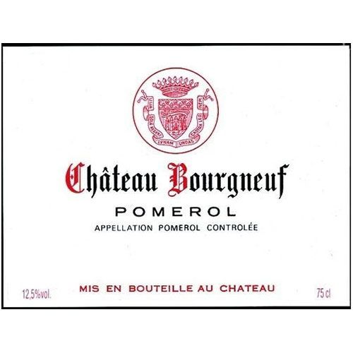 Chateau Bourgneuf  2015 Front Label