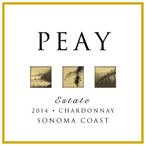 Peay Vineyards Sonoma Coast Chardonnay 2014 Front Label