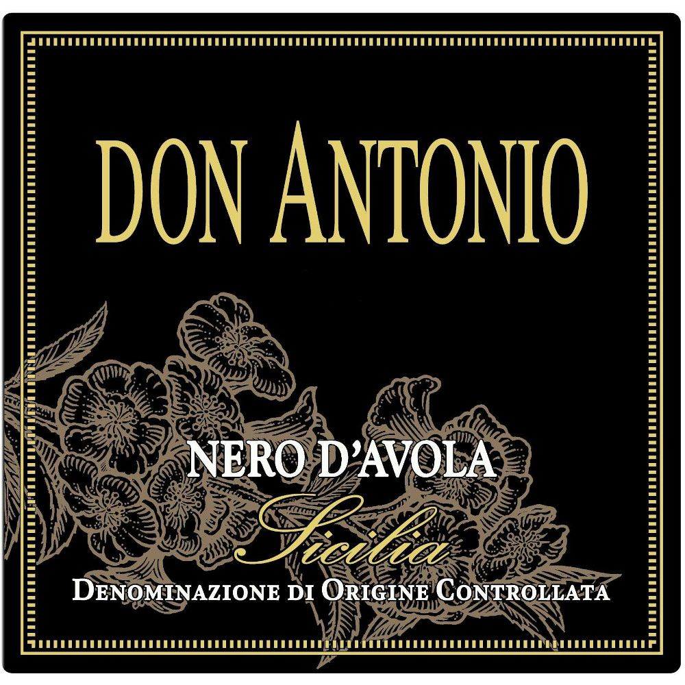 Morgante Don Antonio Nero d'Avola Riserva 2014 Front Label